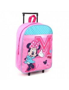 MOCHILA MINNIE MOUSE TROLLEY